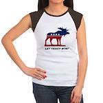 Bull Moose Women's Cap Sleeve T-Shirt