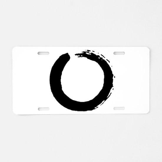Peace earth Aluminum License Plate