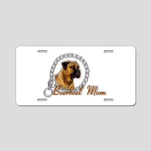;Boerboel Mom Aluminum License Plate