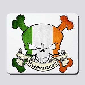 Brennan Skull Mousepad