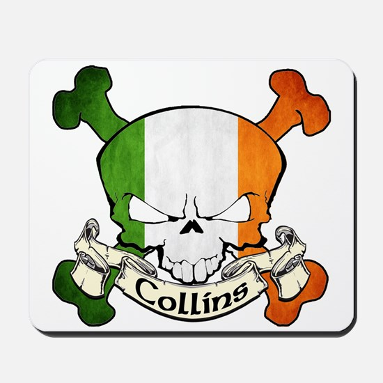 Collins Skull Mousepad