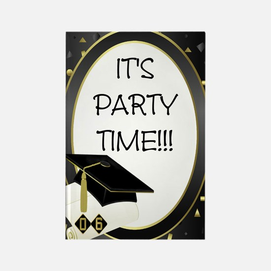 Party Time! Grad 2006 Rectangle Magnet (10 pack)