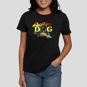 Border Collie Agility Women's Dark T-Shirt