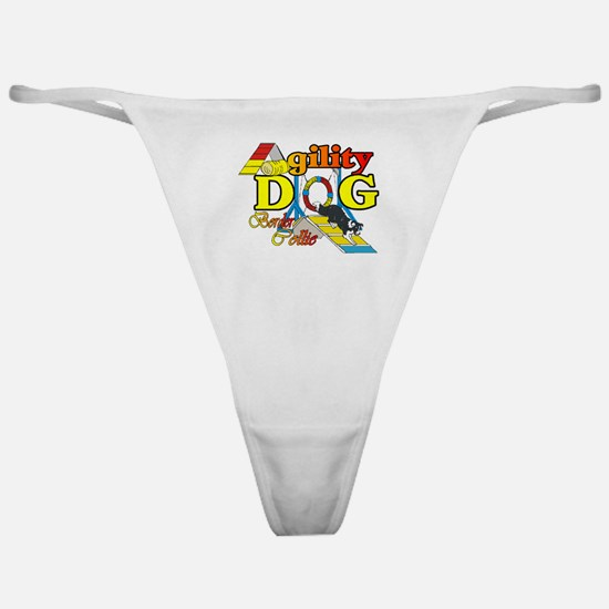 Border Collie Agility Classic Thong
