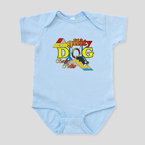 Border Collie Agility Infant Bodysuit