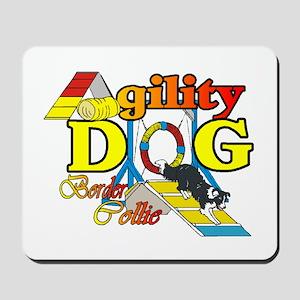 Border Collie Agility Mousepad