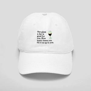 A Glass A Day Cap