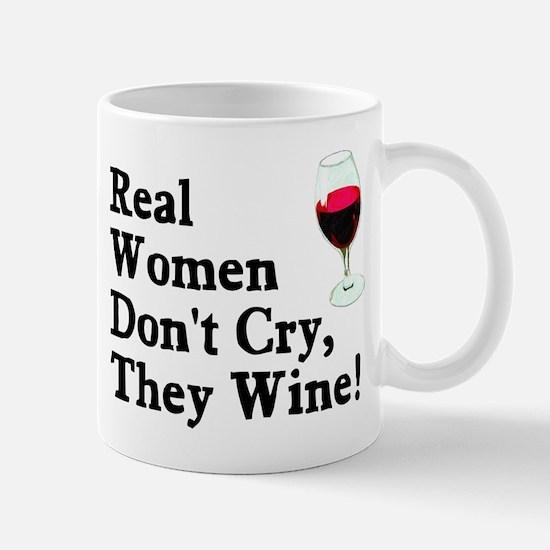 Real Women Wine Mug