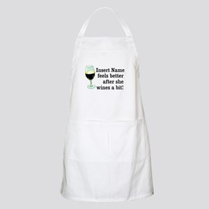 Personalized Wine Gift Apron