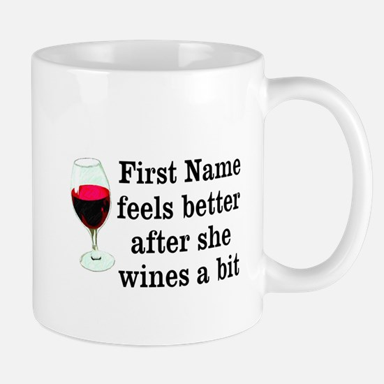 Personalized Wine Gift Mug