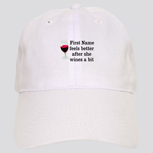 5db22c41c6a Personalized Wine Gift Cap