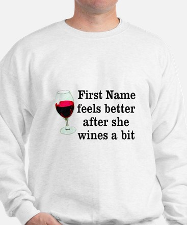 Personalized Wine Gift Jumper