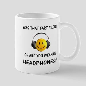 Farts & Headphones Mug