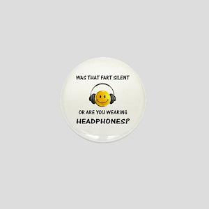 Farts & Headphones Mini Button