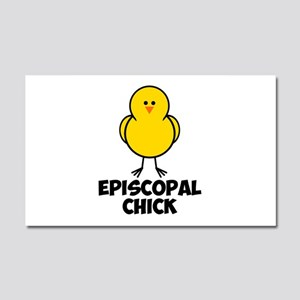 Episcopal Chick Car Magnet 20 x 12