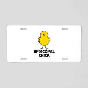 Episcopal Chick Aluminum License Plate