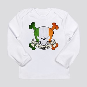 Higgins Skull Long Sleeve Infant T-Shirt