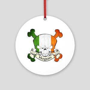 Hogan Skull Ornament (Round)
