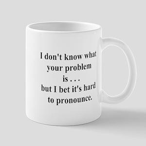 hard to pronounce Mug