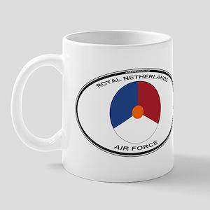 Dutch AF Roundel (labaled) Mug