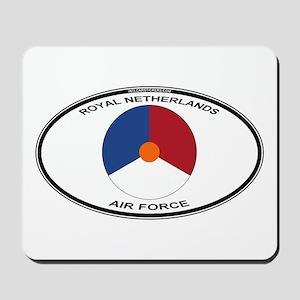 Dutch AF Roundel (labaled) Mousepad