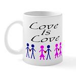"""""""Love is Love"""" Mug"""