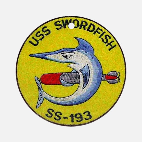 USS Swordfish SS 193 Ornament (Round)