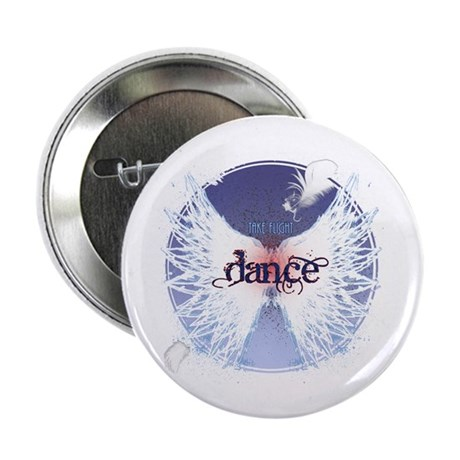 "Take Flight Dance by DanceShirts.com 2.25"" Button"