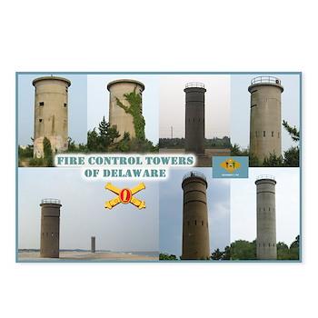2002 Delaware Towers Postcard