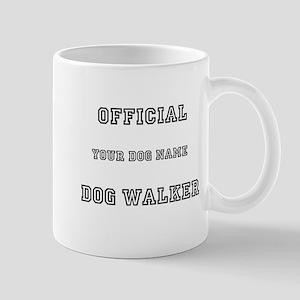 Personalized Dog Walker Mug