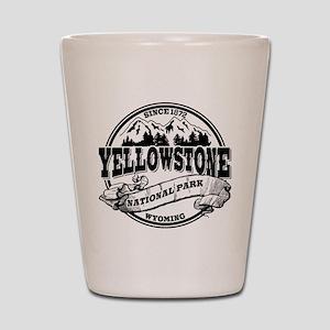 Yellowstone Old Circle Shot Glass