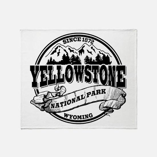 Yellowstone Old Circle Throw Blanket