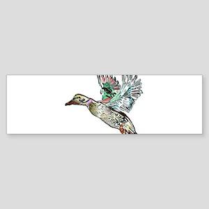 Art Nouveau Mallard Duck Sticker (Bumper)