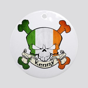 Kenny Skull Ornament (Round)