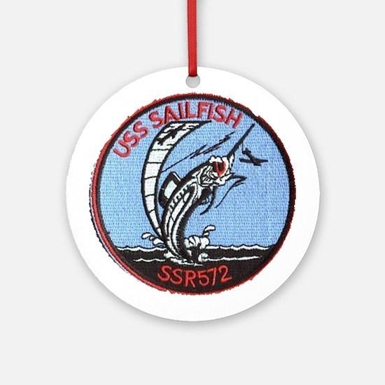 USS Sailfish SSR 572 Ornament (Round)