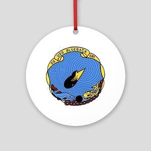 USS Blueback SS 581 Ornament (Round)