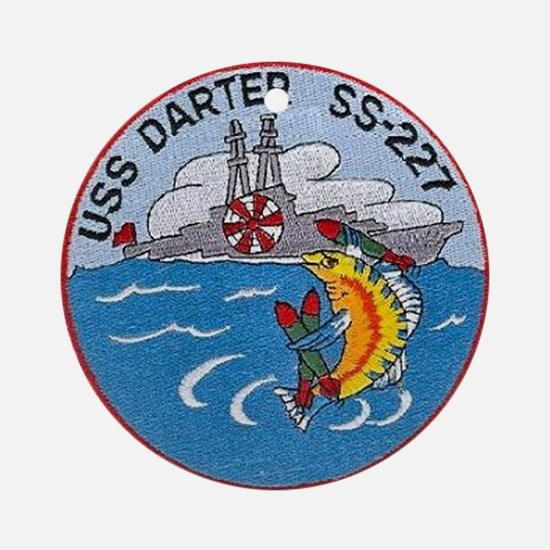 USS Darter SS 227 Ornament (Round)
