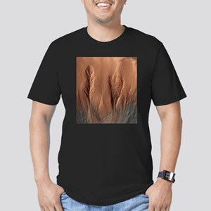 Crater Dunes and Gullies on Mars T-Shirt