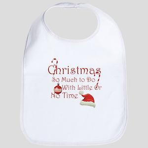 Funny Rude Christmas Bib
