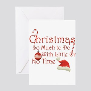 Funny Rude Christmas Greeting Card
