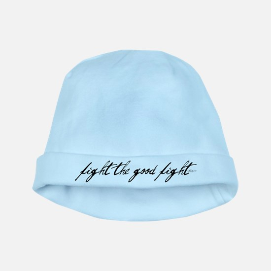 fight the good fight baby hat