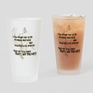 Breathe Life Drinking Glass