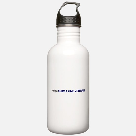 Submarine Veteran Dolphins Water Bottle
