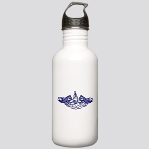 Submarine Dolphins Stainless Water Bottle 1.0L
