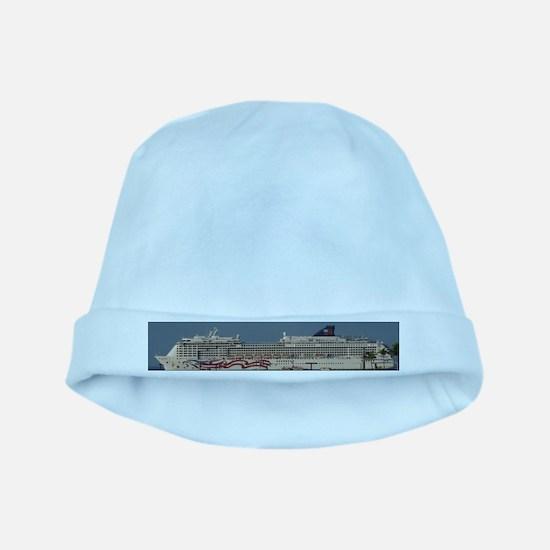 Cruise ship baby hat
