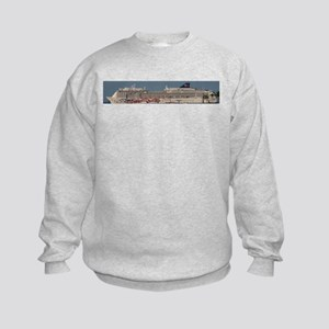 Cruise ship Kids Sweatshirt
