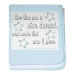 A Star Danced baby blanket