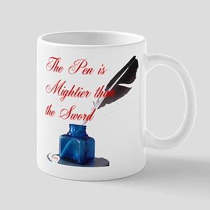 PEN vs. SWORD Mug