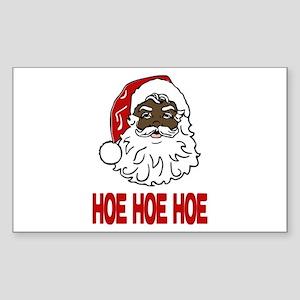 HOE HOE HOE Sticker (Rectangle)