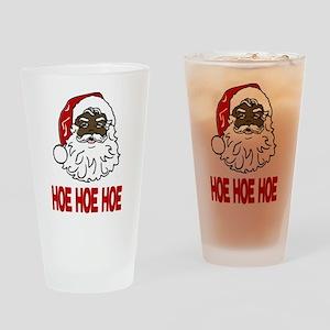 HOE HOE HOE Drinking Glass